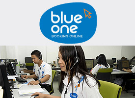 Blue One Booking Online